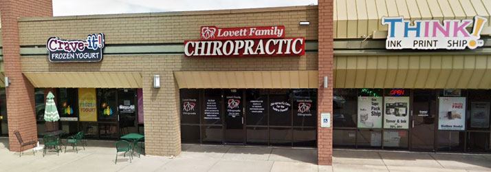 Chiropractic Centennial CO Office Building